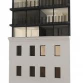 vizualizace ulicni fasady