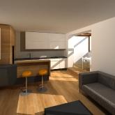 kuchyně vizualizace varianta 1